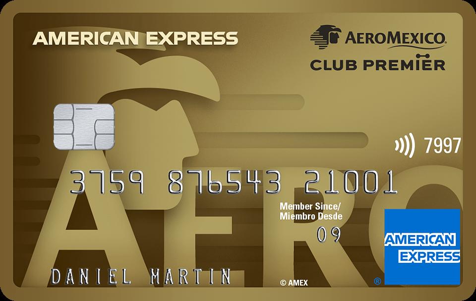 The Gold Card American Express Aeroméxico
